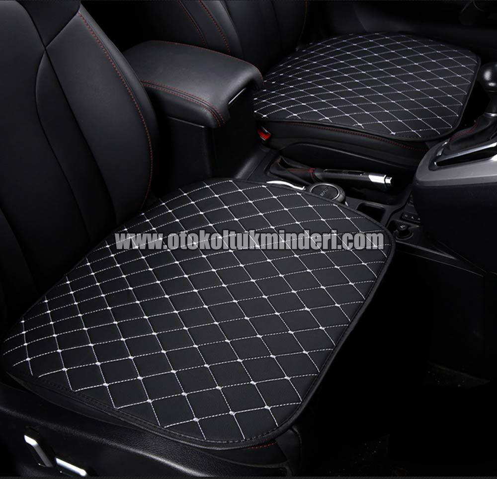 koltuk minderi deri - Alfa Romeo Oto Koltuk minderi Serme Deri - Siyah Beyaz