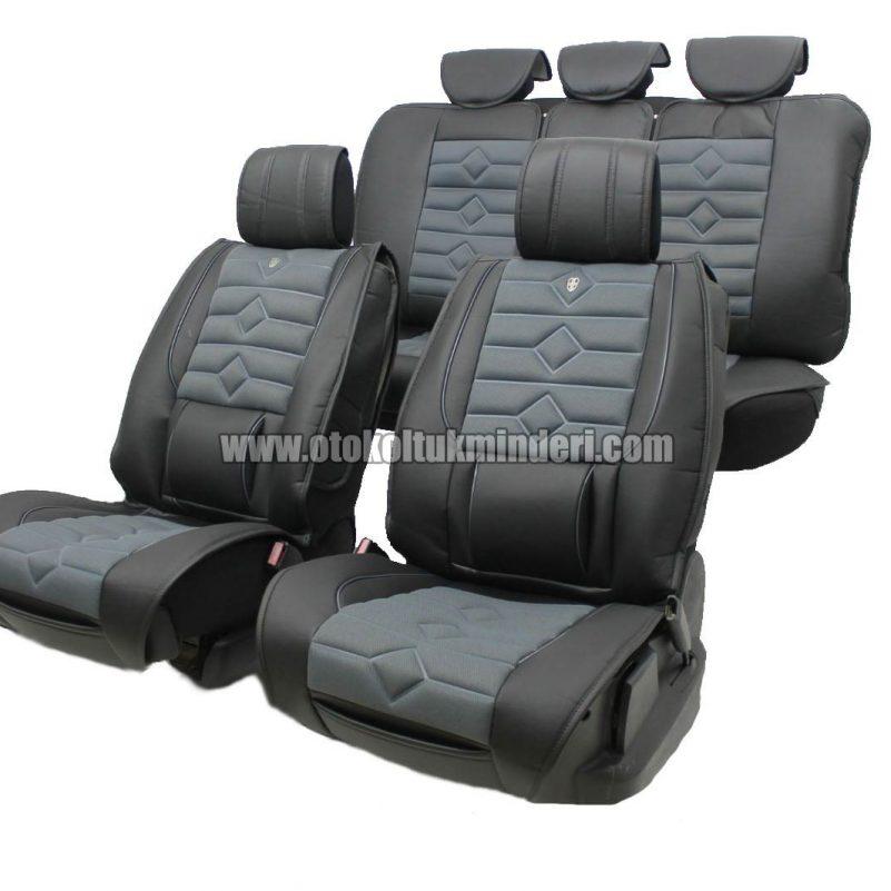 oto koltuk minderi koyu gri 801x801 - Oto Koltuk Minderi Lüks 3lü - Koyu Gri