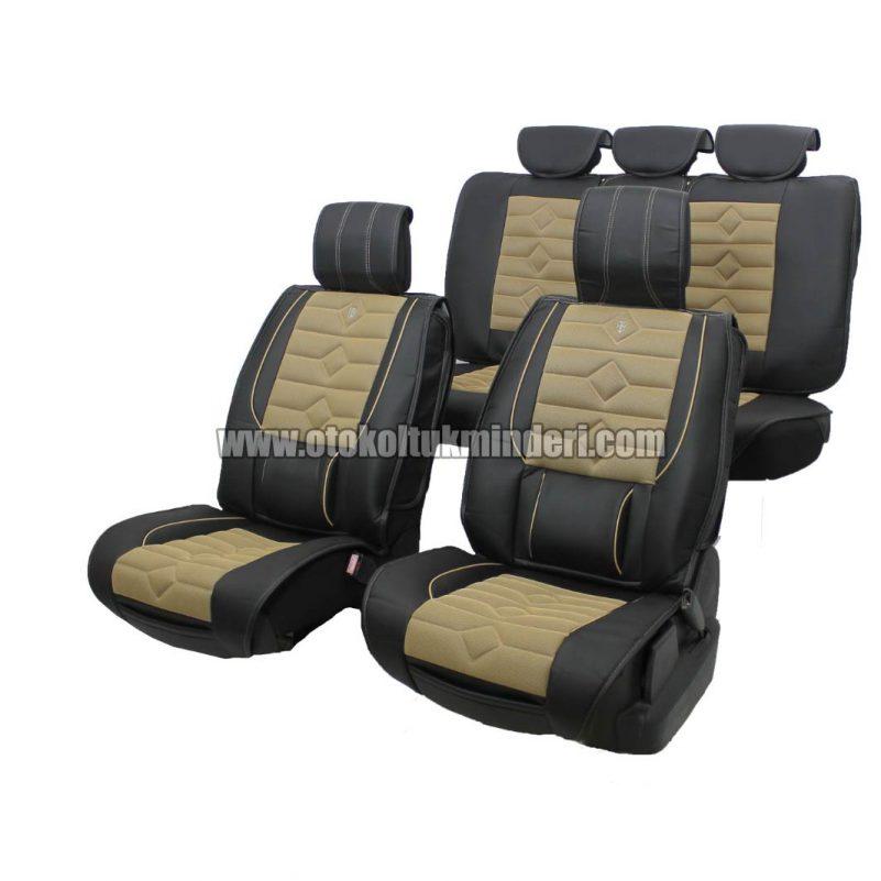 oto koltuk minderi siyah lüks 801x801 - Oto Koltuk Minderi Lüks 3lü - Siyah Bej