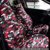 Citroen Servis Kılıfı kamuflaj – Kırmızı