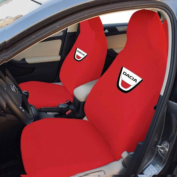 dacia on kırmızı 600x600 - Dacia Servis Kılıfı - Kırmızı