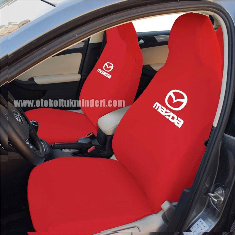 mazda ön kırmızı 800x800 - Mazda Servis Kılıfı - Kırmızı
