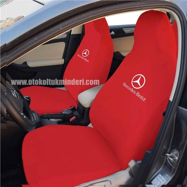 mercedes ön kırmızı 600x600 - Mercedes Servis Kılıfı - Kırmızı