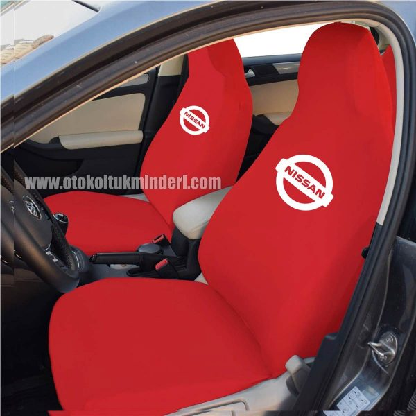 nissan ön kırmızı 600x600 - Nissan Servis Kılıfı - Kırmızı