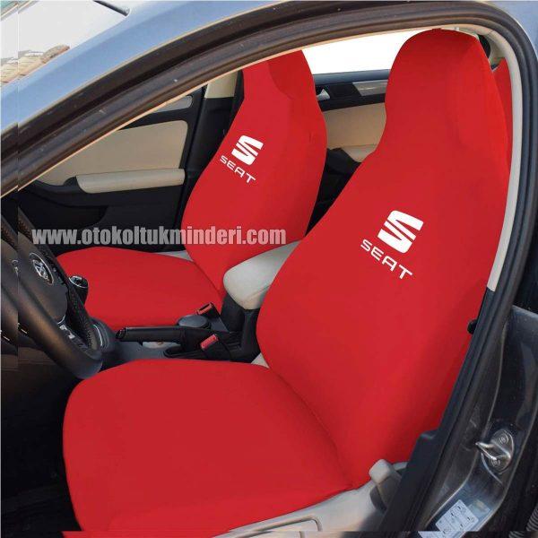 seat ön 600x600 - Seat Servis Kılıfı - Kırmızı