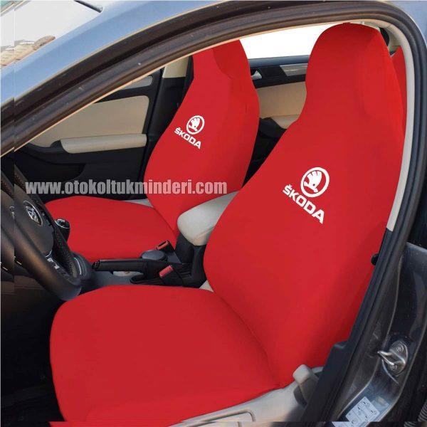 skoda ön 1 600x600 - Skoda Servis Kılıfı - Kırmızı