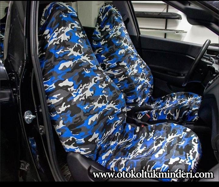 Mazda Servis Kılıfı kamuflaj – Mavi - Mazda Servis Kılıfı kamuflaj – Mavi