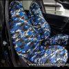 peugeot oto koltuk kılıfı mavi 100x100 - Peugeot Servis Kılıfı kamuflaj - Mavi