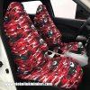 Audi kamuflaj servis kılıfı Kırmızı 100x100 - Audi kamuflaj servis kılıfı - Kırmızı