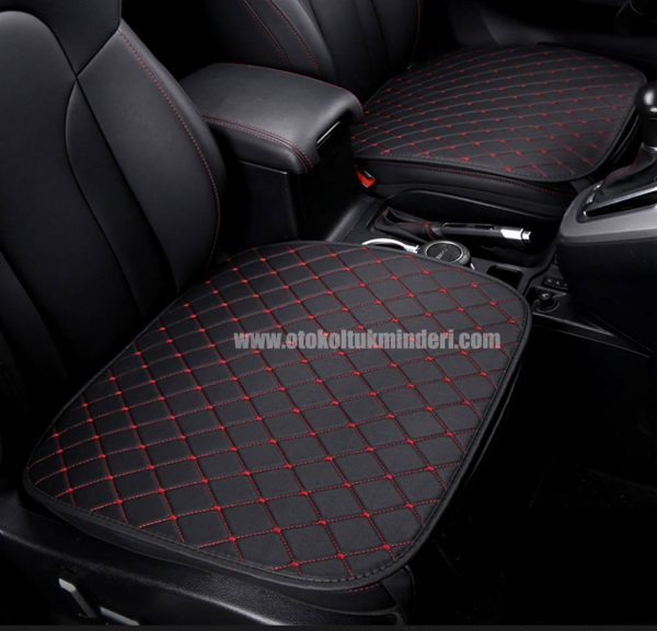 Chevrolet Oto Koltuk minderi Serme Deri Siyah Kırmızı deri minder 3lü 600x577 - Chevrolet Oto Koltuk minderi Serme Deri - Siyah Kırmızı