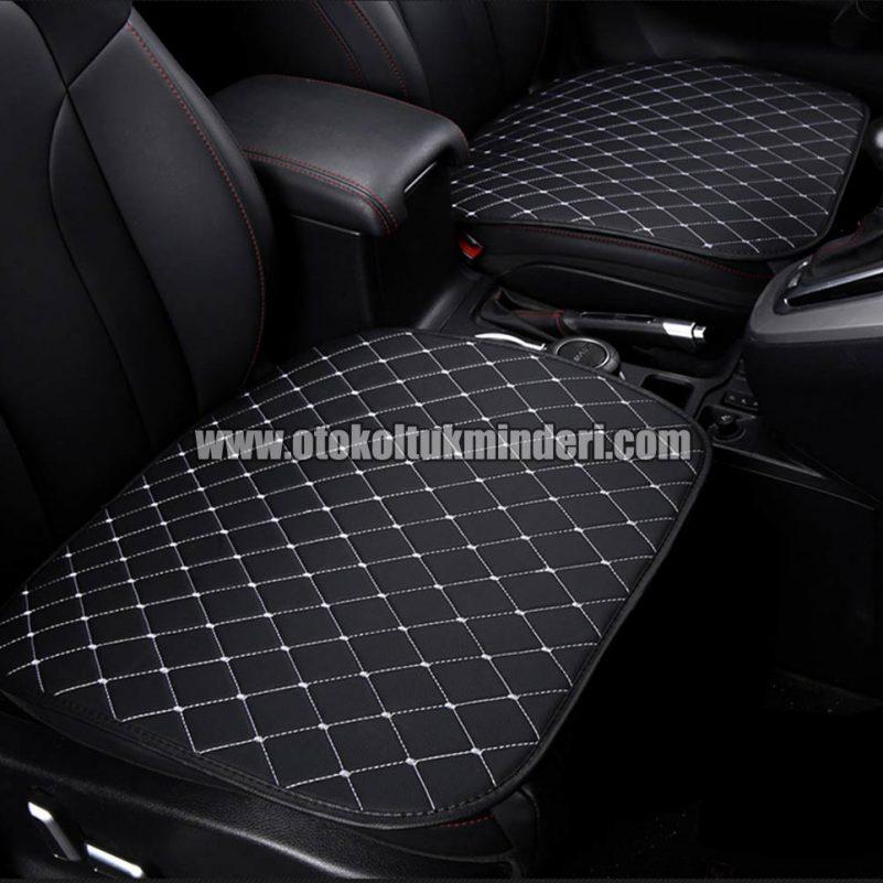 Honda koltuk minderi full set 801x801 - Honda Oto Koltuk minderi Serme Deri - Siyah Beyaz