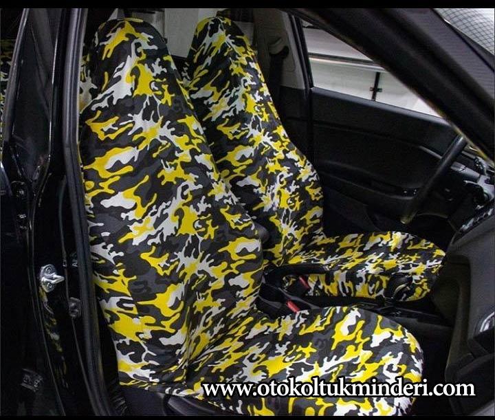 Nissan kamuflaj servis kılıfı – Sarı - Nissan kamuflaj servis kılıfı – Sarı