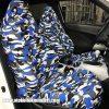 Peugeot kamuflaj servis kılıfı – Mavi 100x100 - Peugeot kamuflaj servis kılıfı – Mavi
