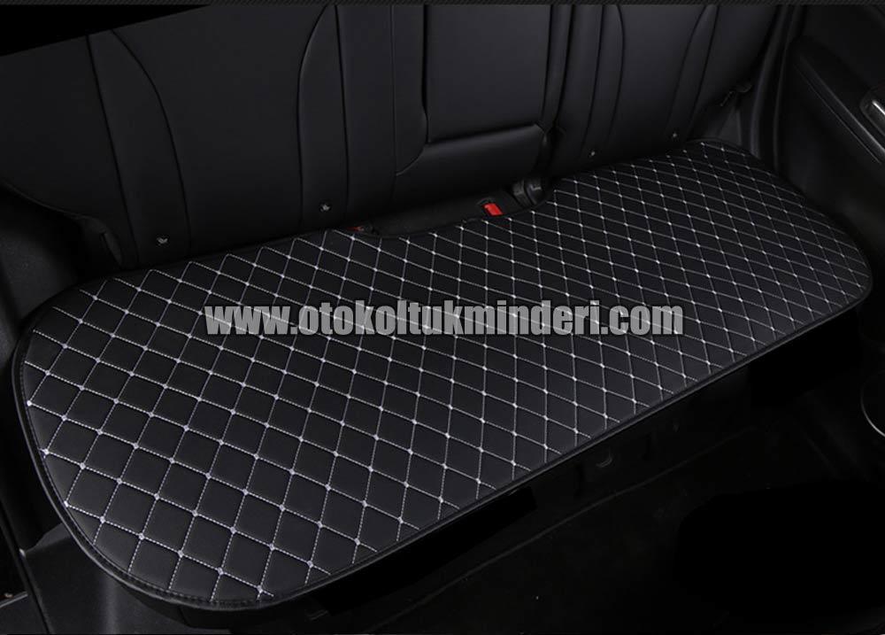 Peugeot oto ortopedik minder - Peugeot Koltuk minderi 3lü Serme - Siyah Deri